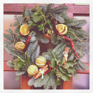 A Wreathy Affair….