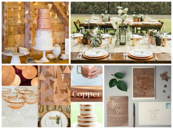 Copper loving, Wedding Inspiration!