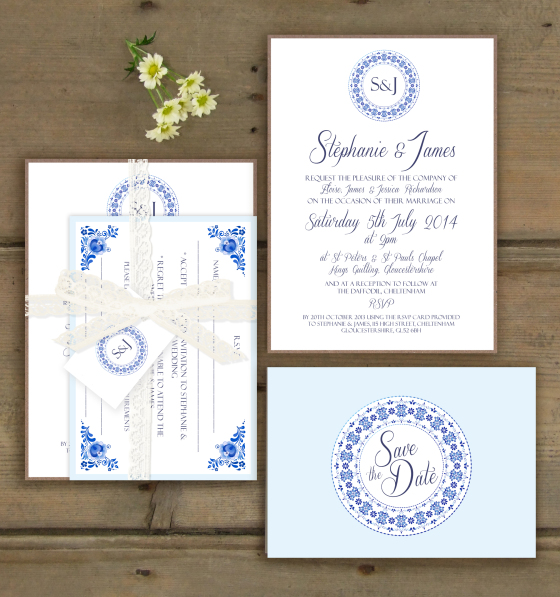 Supplier Spotlight: Knots & Kisses Wedding Stationary