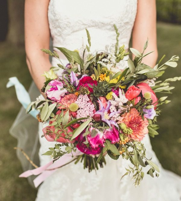 A Year of Bridal Bouquets