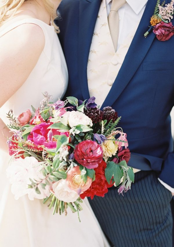 Elegant Greenwich Wedding with Bright Coloured Blooms