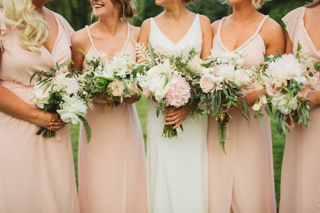 Blush and Lush Greens Wedding at That Amazing Place