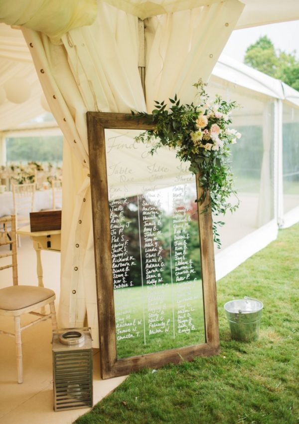 Wedding Table Plan Inspiration