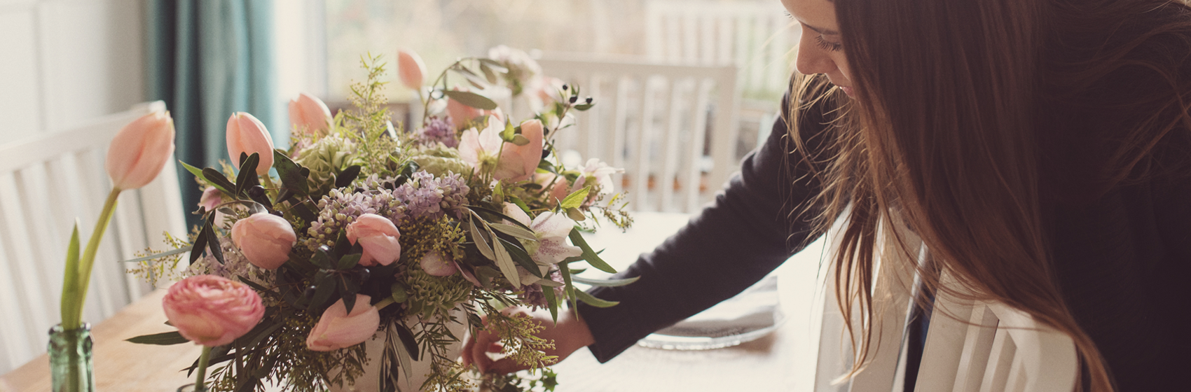 flower arranging workshops by Joanne Truby Floral Design House