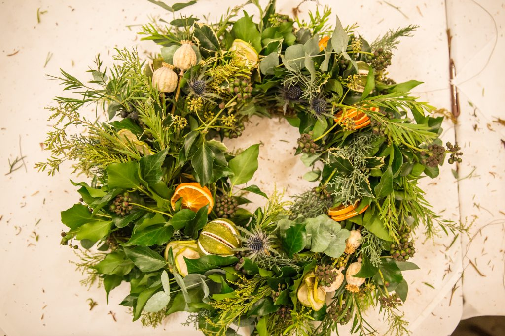 Festive Wreath Making Masterclass