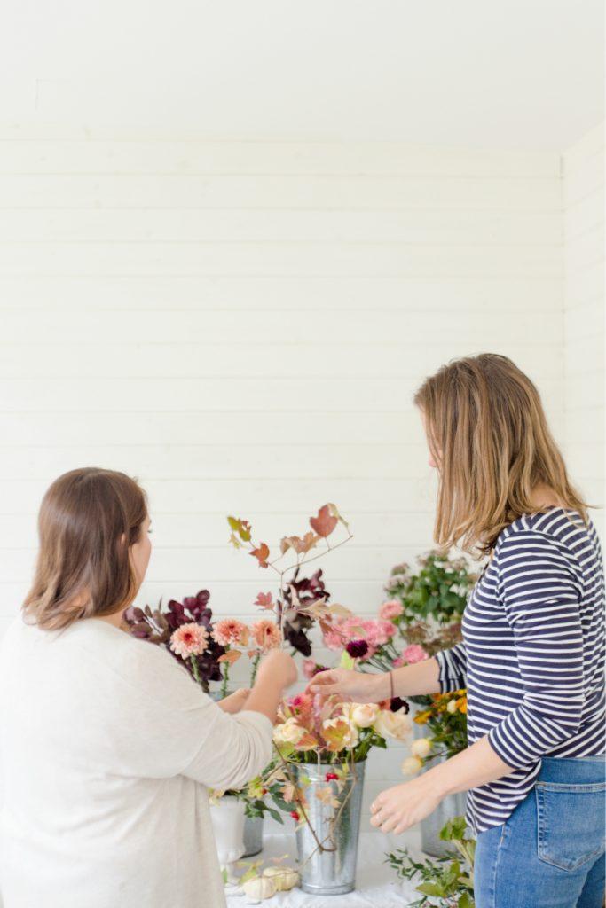 Autumn Compote and Bridal Bouquet Workshop