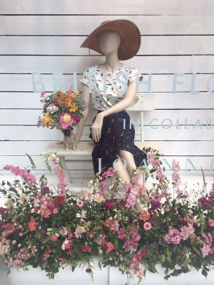 Styling and Events - Window Installation for Joy