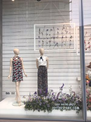 Styling and Events - Window Installation for British Flowers Week