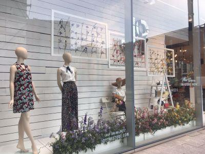 British Flowers Week Joy Installation