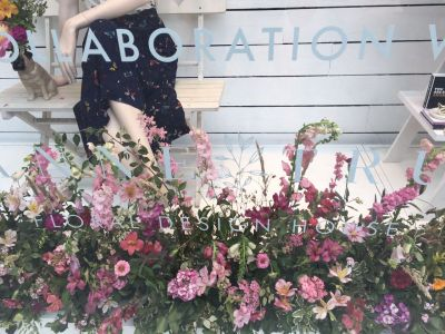 Floral Installation for Joy Window