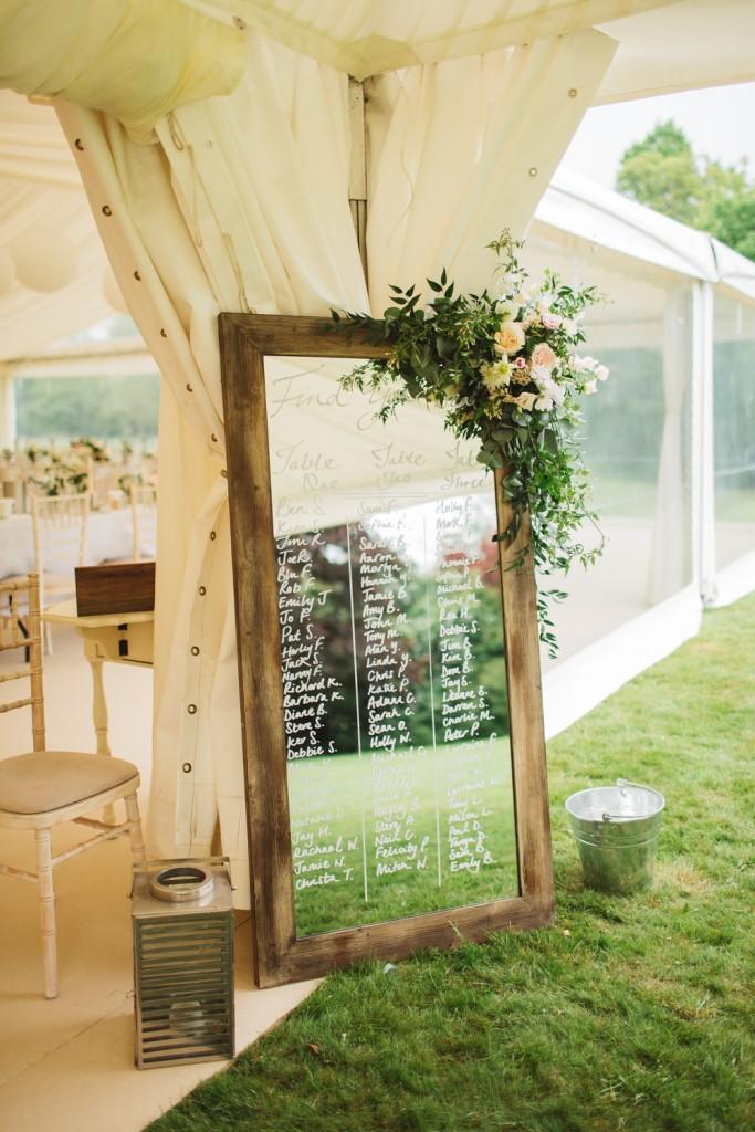 Wedding Table Plan Inspiration