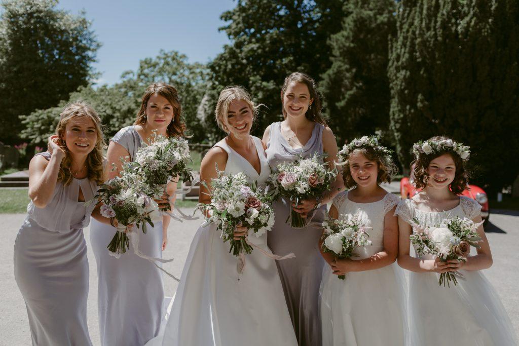 Tuscan meets Botanical Inspired Wedding at Hampton Court House