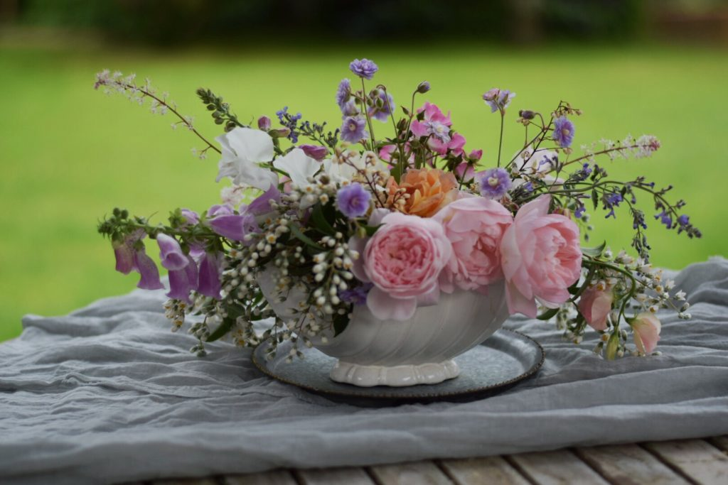Celebrating British Flowers with Swan Cottage Flowers