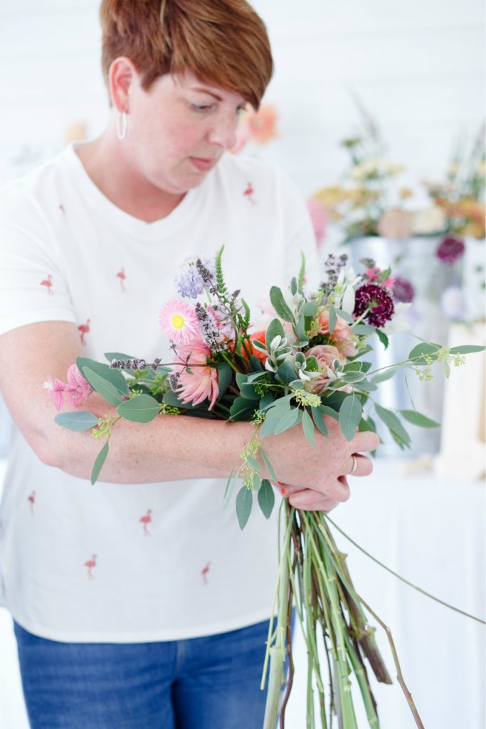 One to One Flower Workshop with Fleurrebelle