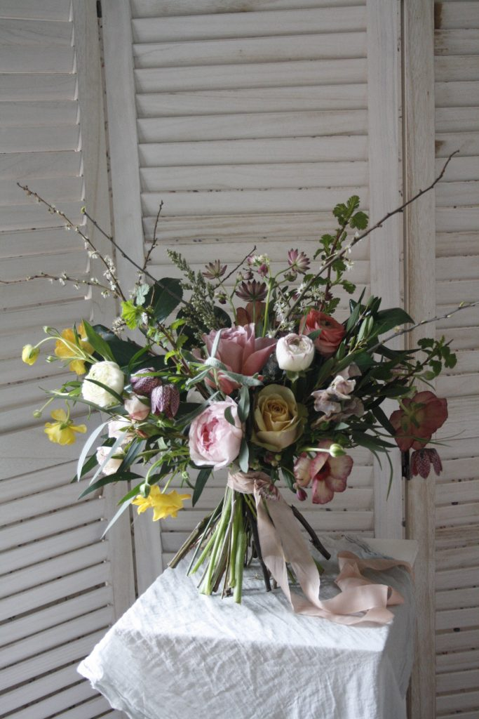 Kate's Wild and Rustic Bouquet
