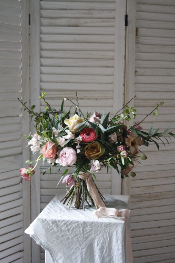 Rebecca's Wild and Rustic Bouquet