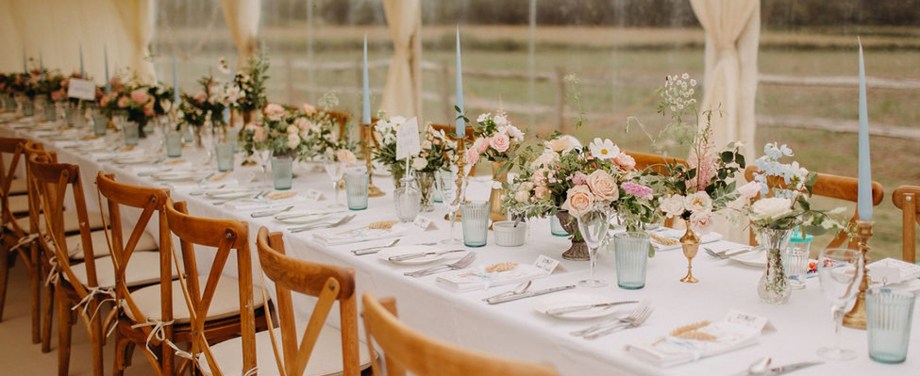 Ruby Tablescape Banner