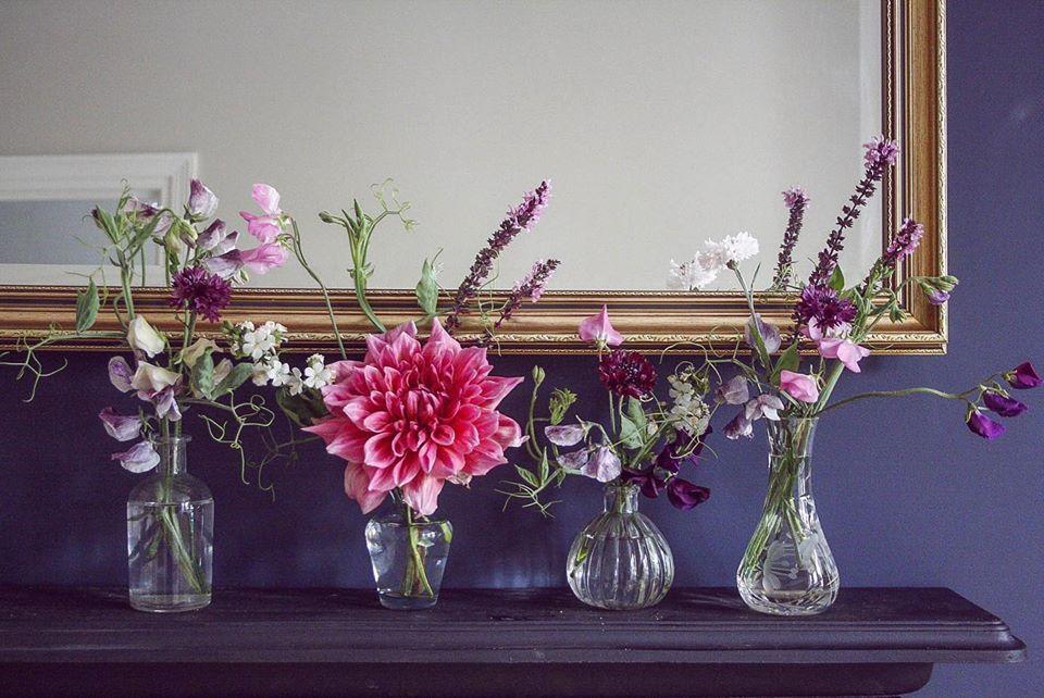 British Flowers through the year