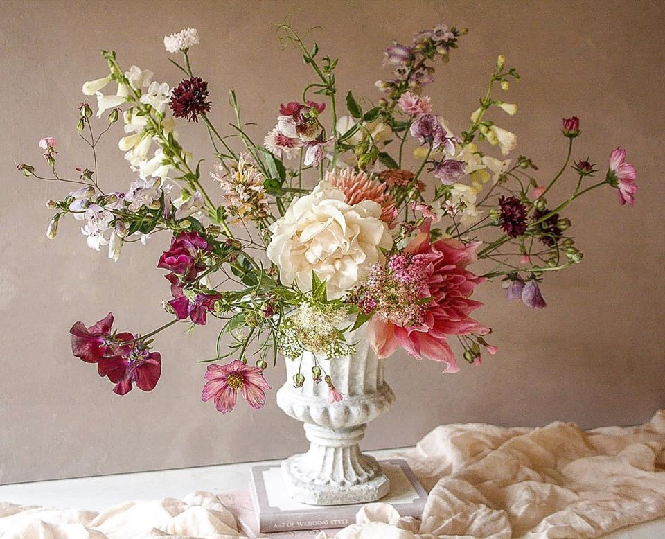 Autumn British Flowers