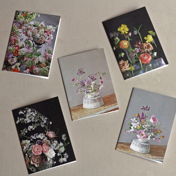fine art floral greetings cards