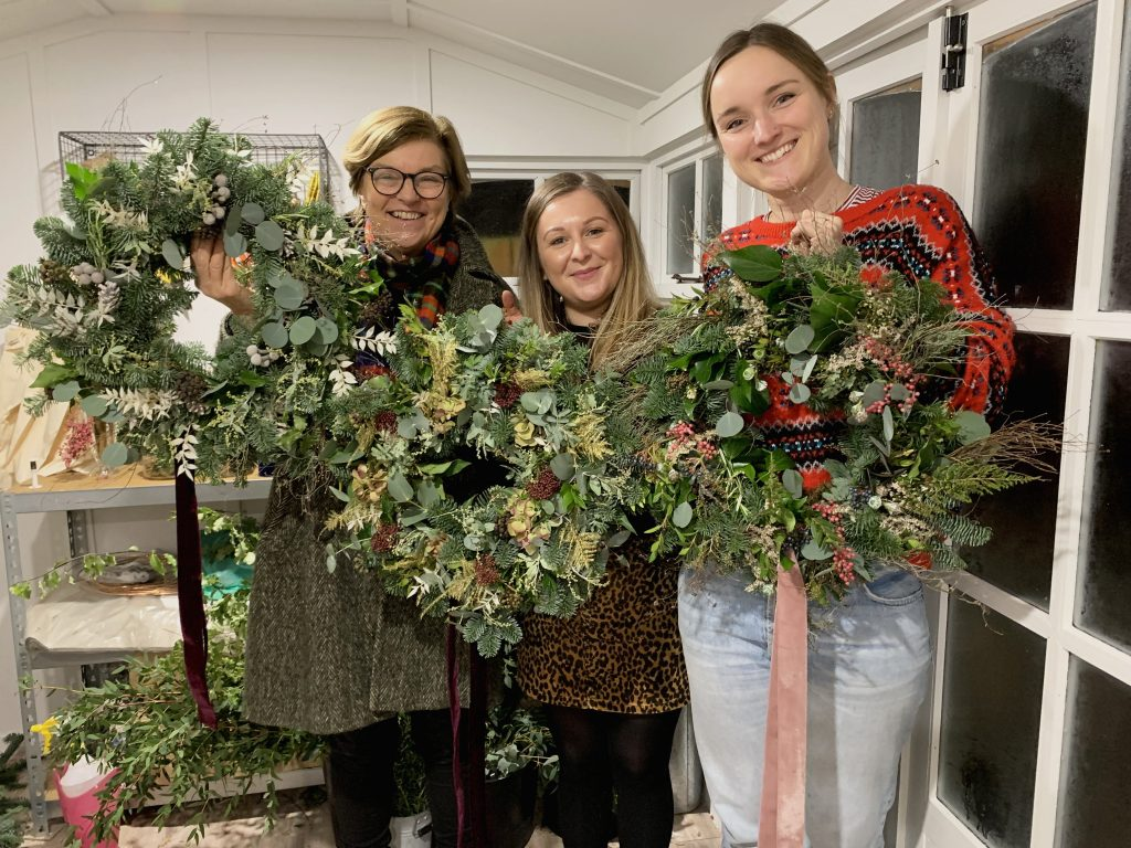 Festive Wreath Creations