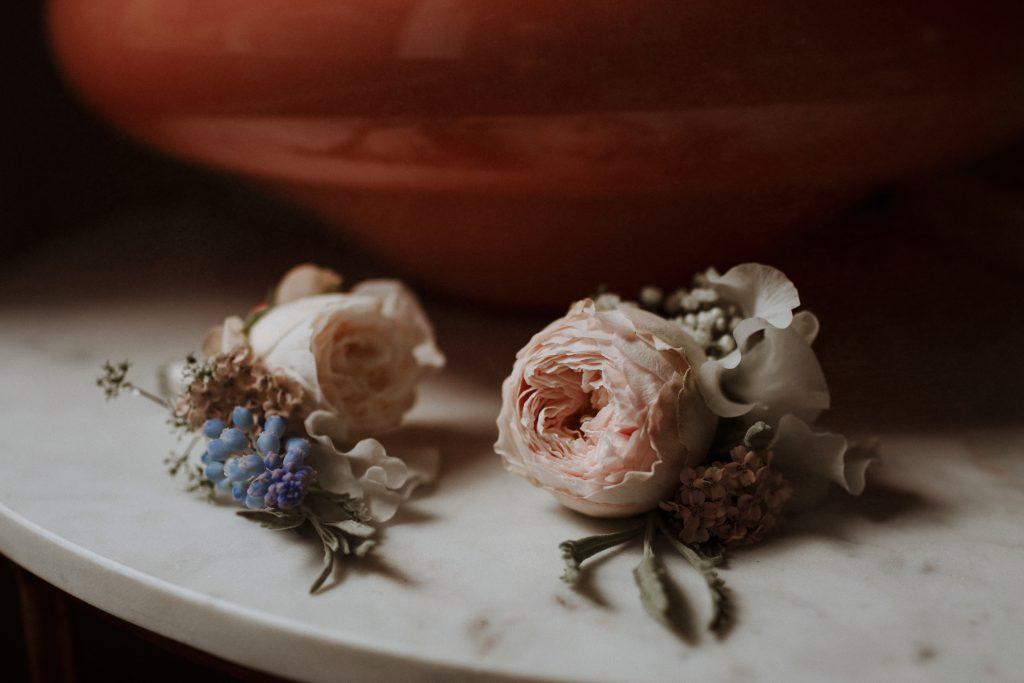Spring buttonholes