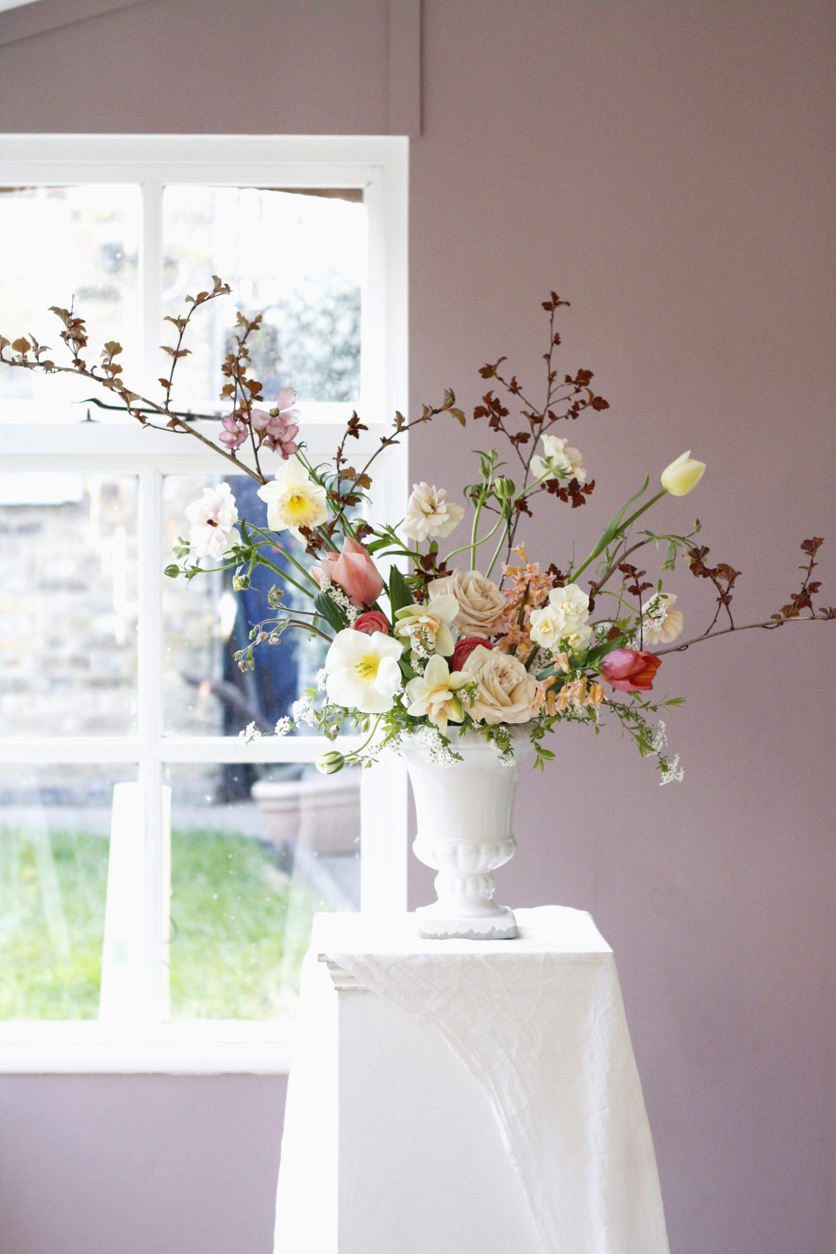 Spring Bloom Urn