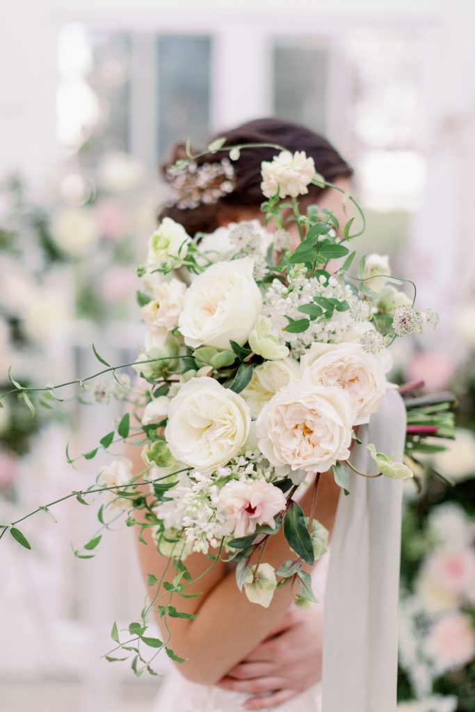 Bridal Bouquet using David Austin Roses
